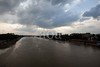 5D8_7672-2 (bandashing) Tags: river surma monsoon flood keanebridge landscape skyline sky clouds riverbank birds fly water darkclouds sylhet manchester england bangladesh bandashing aoa socialdocumentary akhtarowaisahmed