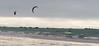 Two Kites On A Winter Beach (sbisson) Tags: kite surfer beach bay jersey coast waves rocks clouds winter kitesurfer grevedazette stclementsbay stclement channelislands storm englishchannel