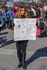 2018.01.20 #WomensMarchDC #WomensMarch2018 Washington, DC USA 2497