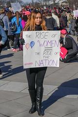2018.01.20 #WomensMarchDC #WomensMarch2018 Washington, DC USA 2497