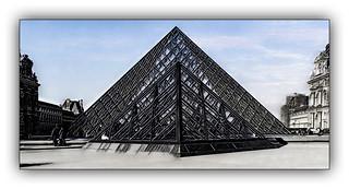 Série Pyramide du Louvre : N° 23