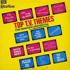 Top T.V. Themes (Jim Ed Blanchard) Tags: soundtrack movie film lp album record vintage cover sleeve jacket vinyl pandora orchestra london symphony please sir onedin line upstairs downstairs tv television themes british english new scotland yard