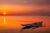 Sunset in Manila, Philippines (nigel_xf) Tags: manila philippines sunset sonnenuntergang meer sea boat boot orange rot red silence stille nikon d300 nigel nigelxf vsfototeam