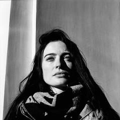 Nata (selchukov) Tags: blackandwhite bw bwportrait bronica mediumformat kodak tmax streetbw film 120mm