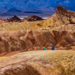 Zabriskie Point, Death Valley, CA (Trent9701) Tags: california deathvalley trentcooper vacation zabriskiepoint desert nationalparks sunset travel