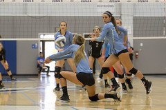2017 CCCAA Women's Volleyball State Championships – Quarterfinals, San Joaquin Delta vs. Mira Costa (davidmoore326) Tags: volleyball championship cccaa state tournament solano photo photography image dslr san joaquin delta miracosta fairfield california unitedstatesofamerica