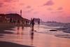 Walking & playing Matkot on the beach at sunset - Tel-Aviv - Follow me on Instagram:  @lior_leibler22 (Lior. L) Tags: walkingplayingmatkotonthebeachatsunsettelavivnorthbeach walking playing matkot beach sunset telaviv