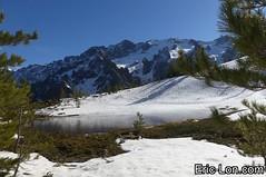 Corsica frozen lake Asco (29) (Eric Lon) Tags: corsica corse france island ile mountains montagne meretmontagne mareimonti pine pin laricio neige snow lac lake bath bain ice glace trek trekking ericlon
