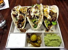 photo - Korean Pulled Pork Tacos, Hyatt House Emeryville (Jassy-50) Tags: photo emeryville california hyatthousehotel hyatthouse hyatt food meal koreanpulledporktaco korean pulledporktaco pulledpork pork taco guacamole jalapenos