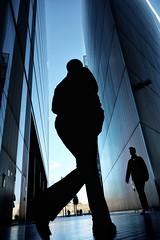 Land of the giants (Mark Fearnley Photography) Tags: scifi silhouette pov blue fujix fujifilm fujixt2 fuji londonstreets london