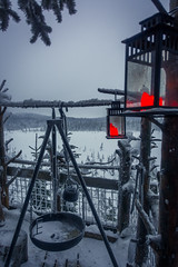 Cabin with a view (nunoborges73) Tags: cabin dogslegh norge norway snow trip turism winter