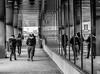 Group Walk (DMWardPhotography) Tags: boston seaport streetphotography bw blackandwhite blackwhite