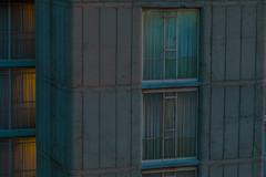 Johannesburg (elsableda) Tags: architecture brutalist brutalism cityscape pastel johannesburg southafrica windows lights