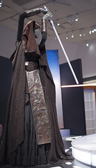 (LegionCub) Tags: starwars returnofthejedi phantommenace attackoftheclones revengeofthesith thepowerofthecostume outfit costume exhibit display movie suit robes disguise luke leia obiwan darthmaul