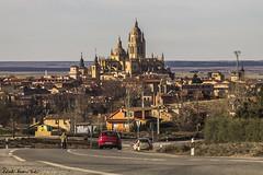 Cathedral of Segovia (RobertoHerreroT) Tags: cathedral catedralmonument robertoherrerotardon segovia castillayleon castillaleon españa spain europa europe road carretera canon canon1100d canonistas