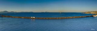 Porto di Napoli in pano
