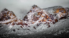 Snow on Red Rocks (SteveMatten) Tags: ifttt 500px mountains nature travel nikon snow outdoors scenic