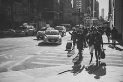 Street at Xmas in New York City, United States of America (iesphotography) Tags: newyork unitedstatesofamerica usa travel winter nyc ny bigapple travelphotography citybreak newyorkcity vacation location states stateside topofempirestate sunset empire worldtrade skyscraper snow