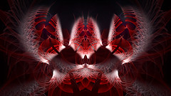 From the Abyss (Luc H.) Tags: abyss fractal abstract graphic graphism design digital red rouge digitalart