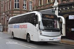 East Yorkshire 82, YY63OEN. (EYBusman) Tags: east yorkshire motor services eyms hull bus coach street york city centre national express caetano levante volvo b9r yy63oen eybusman clifford