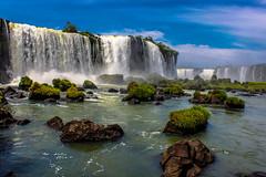 Imponente (Josep Prats) Tags: iguazú brasil cataratas rocas caida abajo
