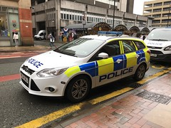 Police Vehicles - Greater Manchester Police - England - February 2018 (firehouse.ie) Tags: k9 fordmondeo mondeo stationwagon wagon estate vehicule vehicle automobile l'auto coche cop car gmp service pd police manchester ford