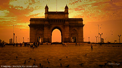 Gateway of India (nikhil_mr) Tags: gateway gatewayofindia mumbai india history british arrivals queen historical monuments must see pride old architecture memories
