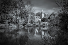 The River Avon at Bradford-on-Avon (Alan E Taylor) Tags: atmospheric bw blackwhite blackandwhite bradfordonavon church countryside dark dramatic europe fineart holytrinitychurch le leebigstopper lightroom longexposure macphun macphuntonalityck mono monochrome noiretblanc river riveravon skylum tourism tourist travel uk unitedkingdom water wiltshire britain british cotswolds england gb
