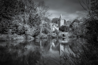 The River Avon at Bradford-on-Avon