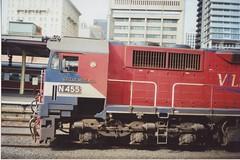 N455 Spencer St (tommyg1994) Tags: west coast railway wcr emd b t x a s n class vline warrnambool geelong b61 b65 t369 x41 s300 s311 s302 b76 a71 pcp bz acz bs brs excursion train australia victoria freight fa pco pcj