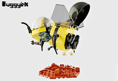 Bumble Bee TERRA-FB 1 Existing Colors 4b (buggyirk) Tags: bumblebee bumble bee plants plant mission terraforming terraformer terraform earth cannon cannons cockpit yellow black bud sprout sprouting water mech robot robots mecha planet science scientific fiction hive colony conservation garden grow life astronaut astronauts vehicle vehicles lego ideas contest moc afol terrafb 1 mars spaceship space toy toys