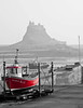 IMG_3225 Holy Island (Michael R. Atkinson) Tags: brightred