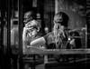 See through a Cafe window (YL168) Tags: street windowshopping cafe sonyflickraward flickrunitedaward 攝影發燒友 coffeeshop icecreamshop boy restaurants blackwhite mother washington dc peoplewatching sony a6000