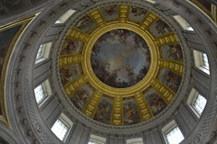 De La Fosse's allegories under the dome over the tomb of Napoleon (ROCKINRODDY93) Tags: paris france europe museum war invalides musee armee