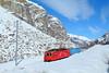 Versunken im Weiß (trainspotter64) Tags: eisenbahn zug train treno tren trein lokomotive lok mgb matterhorngotthardbahn wallis valais schweiz suisse svizzera hge44ii alpen schmalspurbahn schmalspur zahnradbahn winter schnee berge zermatt