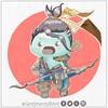 Unicornio Verde Menta Hanzo (SentimentalMint) Tags: fanart unicornio verde menta chibi cute dibujo draw gamer hanzo ilustracion ilustration kawaii overwatch sentimentalmint unicorn