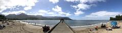 Hanalei Pier (wka) Tags: hawaii kauai northshore hanaleipier pier bay pano
