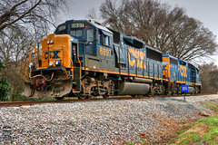 CSX Y120-19 (Steve Hardin) Tags: standardcab emd gp60 gp382 locomotive engine signal junta railroadyard csx wa westernatlantic railroad railway railfan freight train cartersville georgia