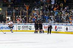 "Kansas City Mavericks vs. Ft. Wayne Komets, March 2, 2018, Silverstein Eye Centers Arena, Independence, Missouri.  Photo: © John Howe / Howe Creative Photography, all rights reserved 2018 • <a style=""font-size:0.8em;"" href=""http://www.flickr.com/photos/134016632@N02/26768688208/"" target=""_blank"">View on Flickr</a>"