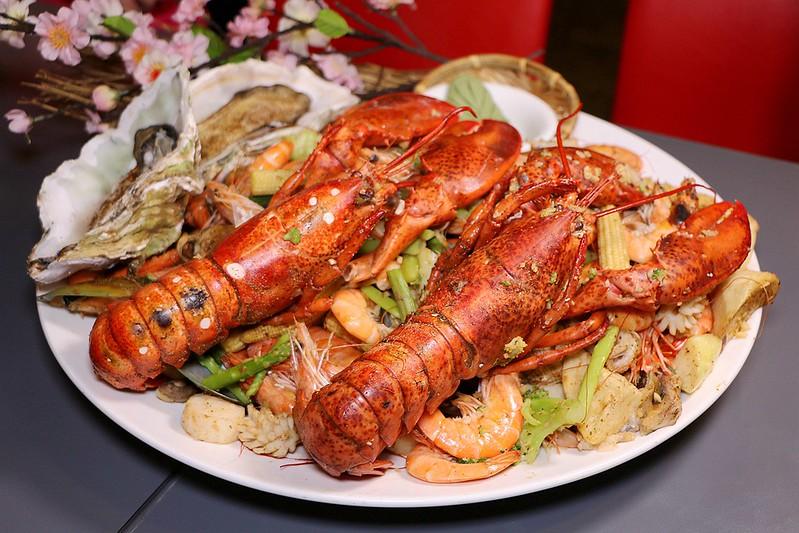 花漁新和風料理食材新鮮CP值高的日式料理33