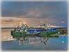 Greencastle, Co Donegal. (willieguildea) Tags: greencaastle donegal inishowen eire ulster port quay boat boats ireland water harbour sky bay coast coastal coastalireland trawlers nikon waterscape river lough loughfoyle fishingboats sea