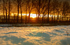 Wintersunrise (drummerwinger) Tags: rot gaden erding canon700d sunrise snow schnee winterlandschaft morgenstimmung