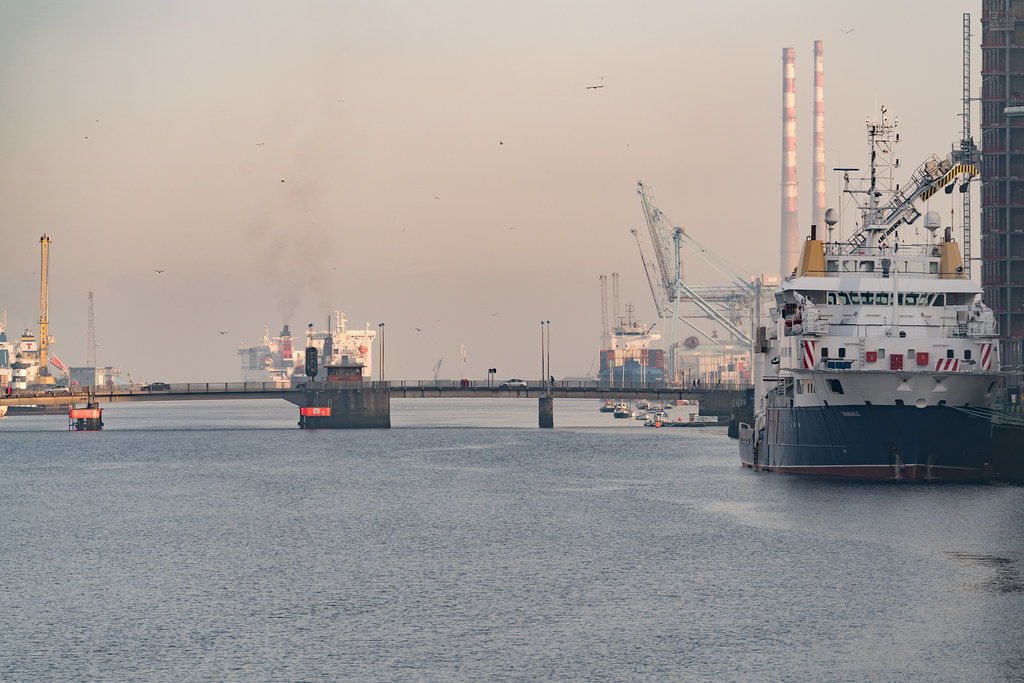 ILV GRANUAILE VISITS DUBLIN [11 JANUARY 2018]-135403
