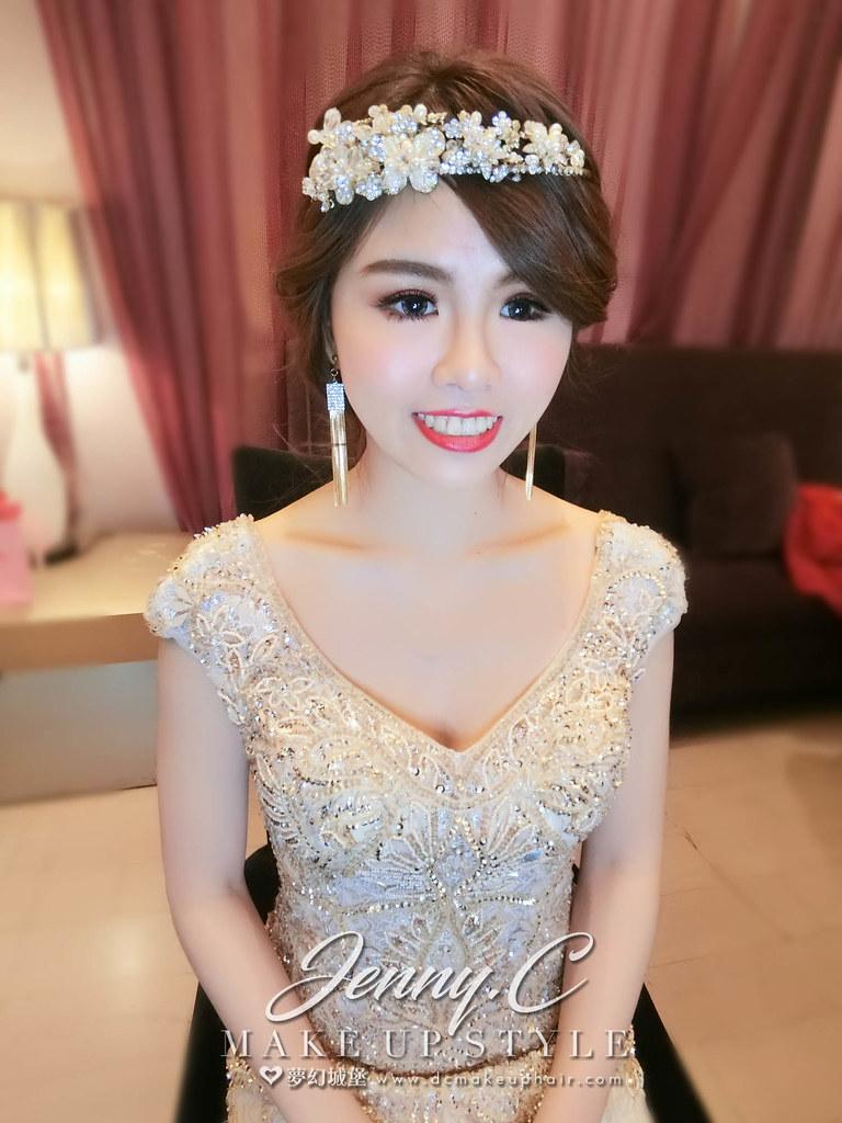 【新秘蓁妮】bride季穎 結婚造型 / 清水成都婚宴會館