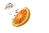orange (Erich Hochstöger) Tags: orange water bubbles studio flash canoneos70d canonef50mmf18stm