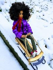sledding... (Nata Luna) Tags: billpotts snowday snow sled