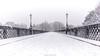 Armstong Bridge Snow (Northern Kev) Tags: armstrongbridge armstrong lordarmstrong bridge jesmond jesmonddene snow nikon d7200 nikond7200 northeast north newcastle lamps