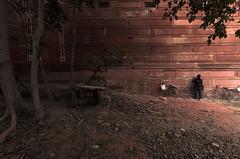 ஆக்ரா | Agra (Kals Pics) Tags: tajmahal shahjahan mumtaz wonder monochrome wall trees lightandlife bicycle man lightandshadow pov perspective cwcwalk315 red agra india uttarpradesh cwc chennaiweekendclickers roi rootsofindia kalspics