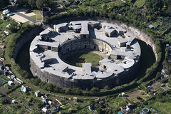 Aerial of the Harwich Redoubt - built 1808 - fort in Essex UK (John D Fielding) Tags: harwich redoubt fort castle essex above nikon d810 aerial northessex dovercourt aerialphotograph aerialimage aerialview aerialimagesuk aerialphotography hires hirez highresolution highdefinition hidef britainfromtheair britainfromabove droneview viewfromplane