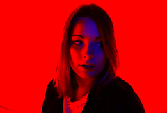 Moïra Gynt 2.0 (JRN Photographie) Tags: rouge portrait femme fille girlk girl woman blood red